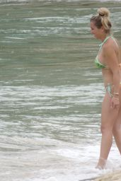 Solfia Balbi (Luis Suarez Wife) in Bikini - Enjoying a Beach Day in St Barts 07/03/2017