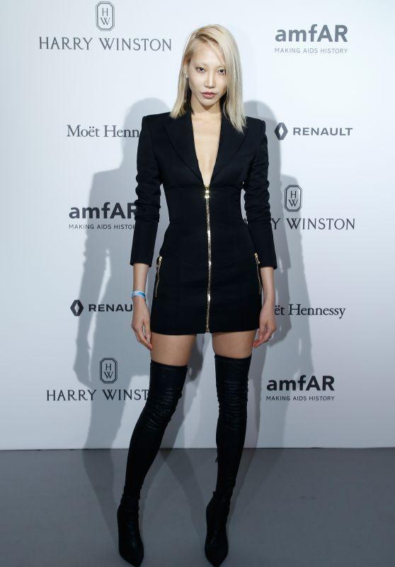 Soo Joo Park at amfAR Gala – Haute Couture Fashion Week in Paris 07/02/2017