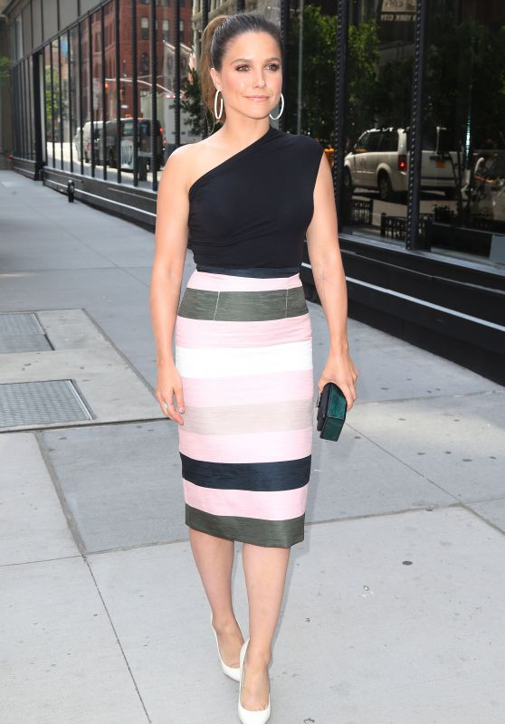 Sophia Bush is Looking All Stylish - AOL Build Speaker Series in NYC 07/13/2017