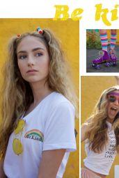 Sophia Rose Turino, Alexis Jayde Burnett, Isabella Brown, Olivia Lucia Horton - Halcyon Kids Magazine Summer 2017
