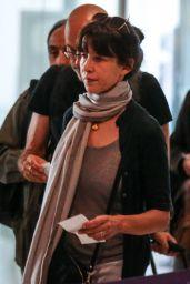 Sophie Marceau - Charles de Gaule Airport in Papris 07/09/2017