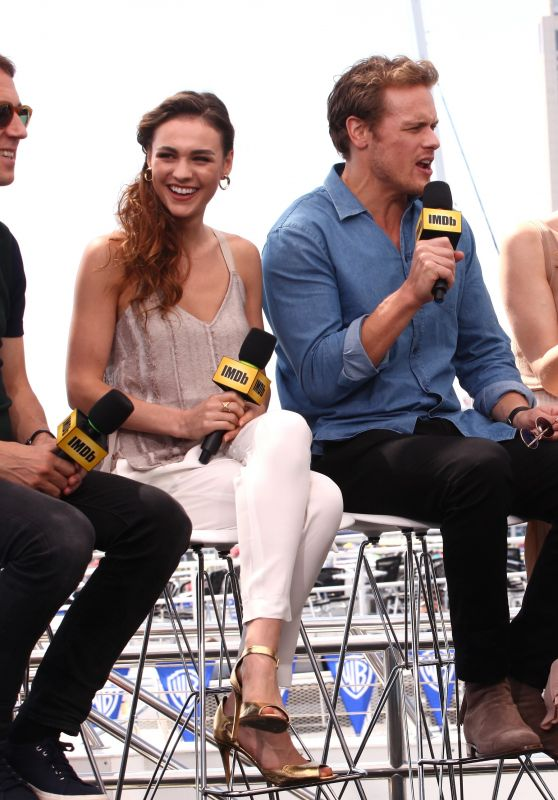 Sophie Skelton & Caitriona Balfe – #IMDboat At San Diego Comic-Con 07/20/2017