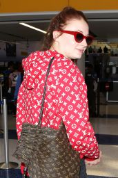 Sophie Turner at LAX Airport in Los Angeles 07/13/2017