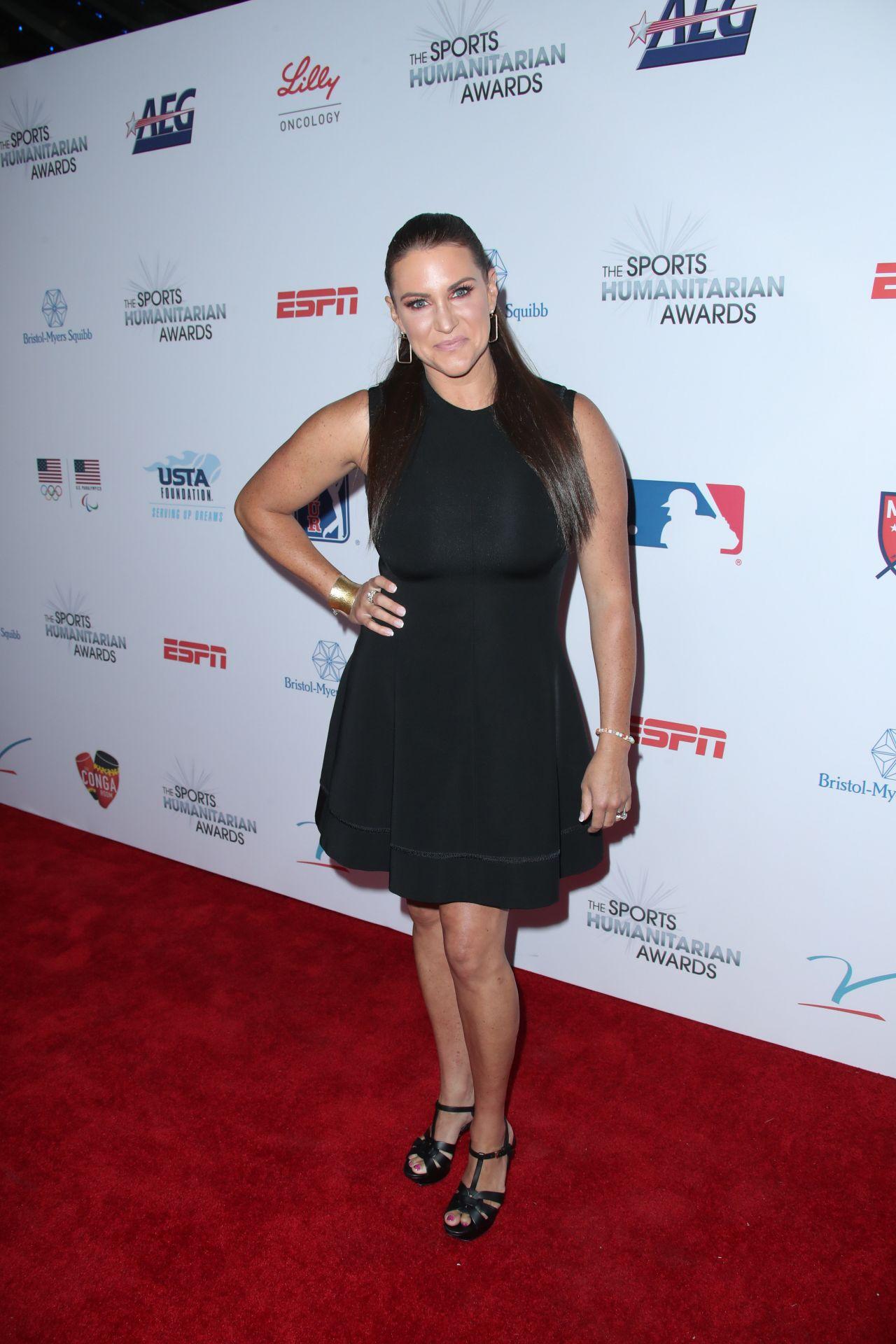 Stephanie Mcmahon Sports Humanitarian Of The Year Award