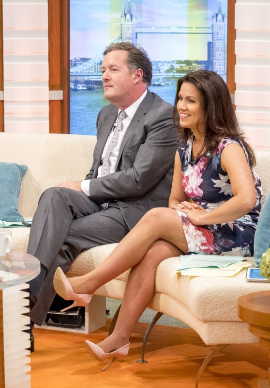 "Susanna Reid - ""Good Morning Britain"" TV Show in London 07/10/2017"