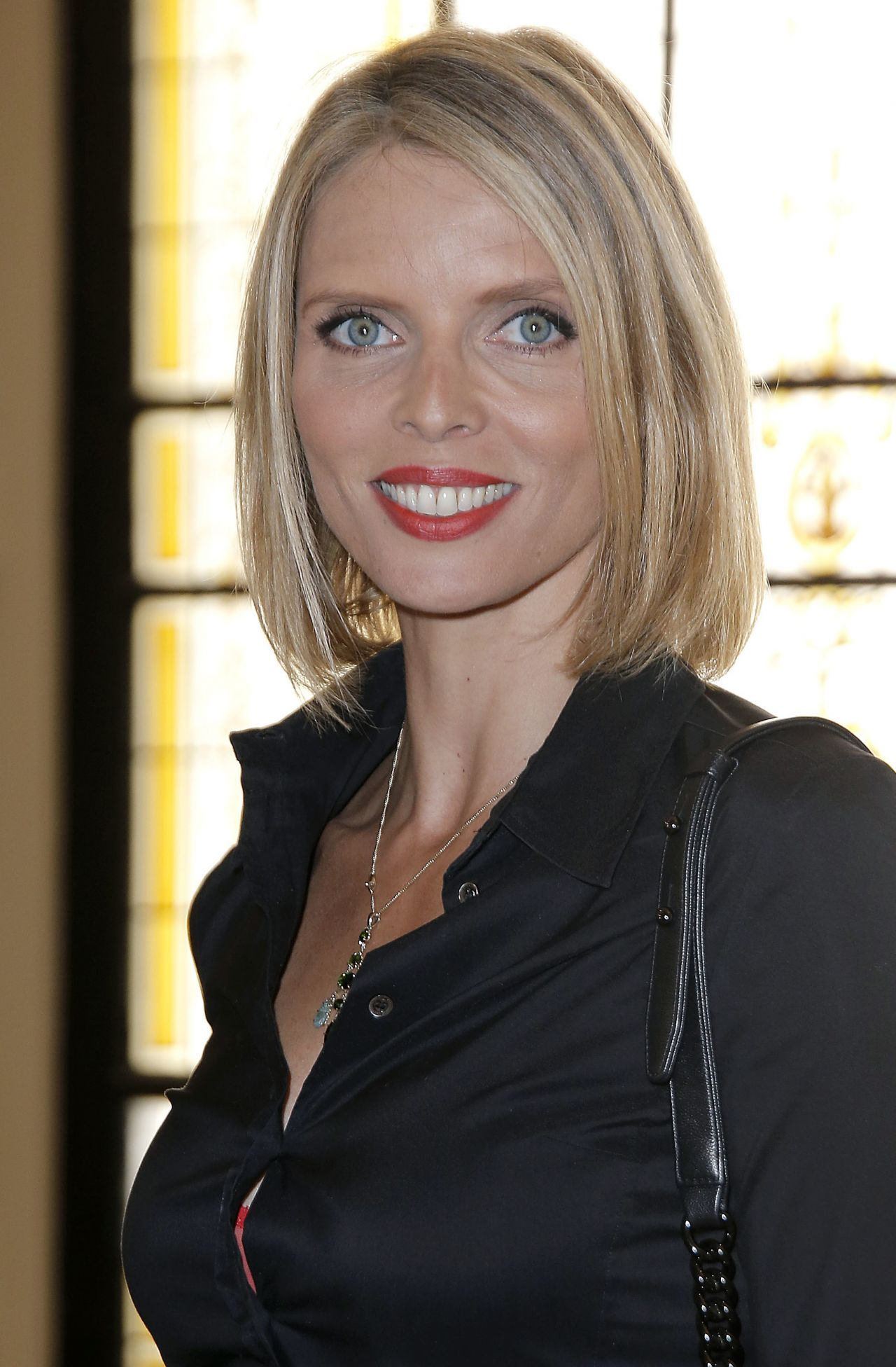 Sylvie Tellier Jean Paul Gaultier Fashion Show In Paris