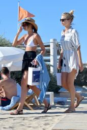 Taylor Hill and Daphne Groeneveld - Out in St Tropez 07/25/2017