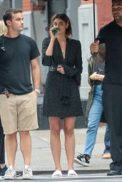 Taylor Marie Hill - Arrives on a Set of Michael Kors Photoshoot in NYC 07/14/2017