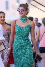 Taylor Marie Hill Street Fashion  - St Tropez 07/24/2017