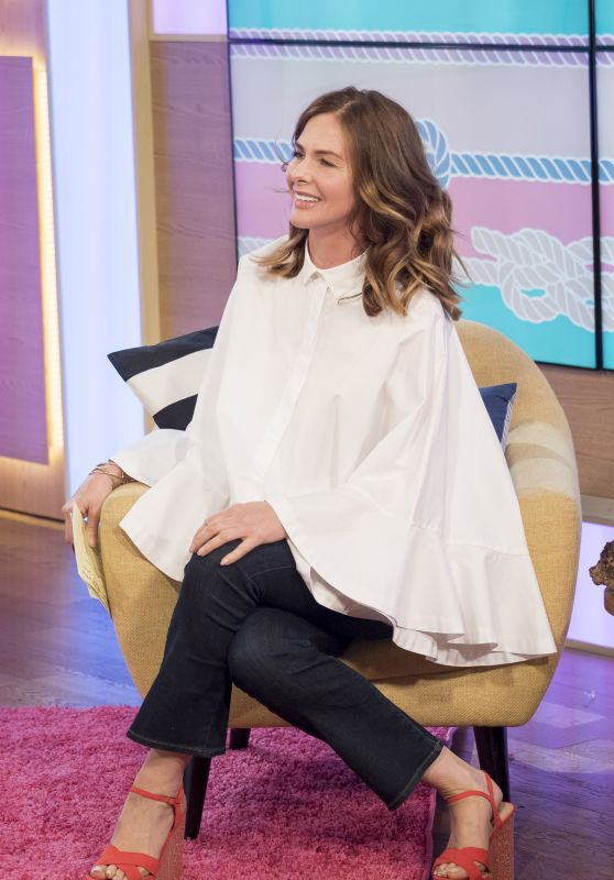 Trinny Woodall - This Morning TV Show in London, UK 07/11/2017