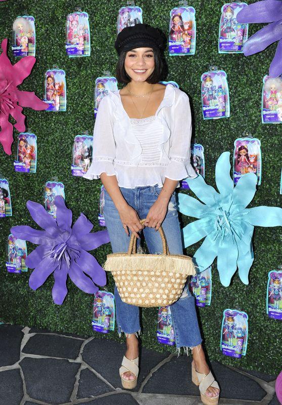 Vanessa Hudgens - Mattel Launch Event For Their New Animal Inspired Brand ENCHANTIMALS in LA 07/18/2017