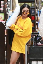 Vanessa Hudgens - Showing Off Her Toned Legs - Shopping in Studio City 07/15/2017