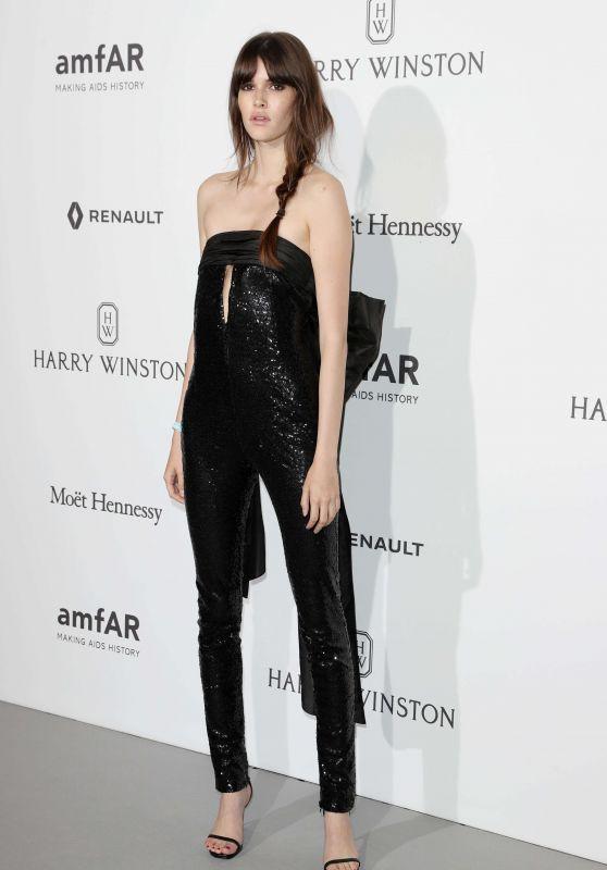 Vanessa Moody at amfAR Gala – Haute Couture Fashion Week in Paris 07/02/2017