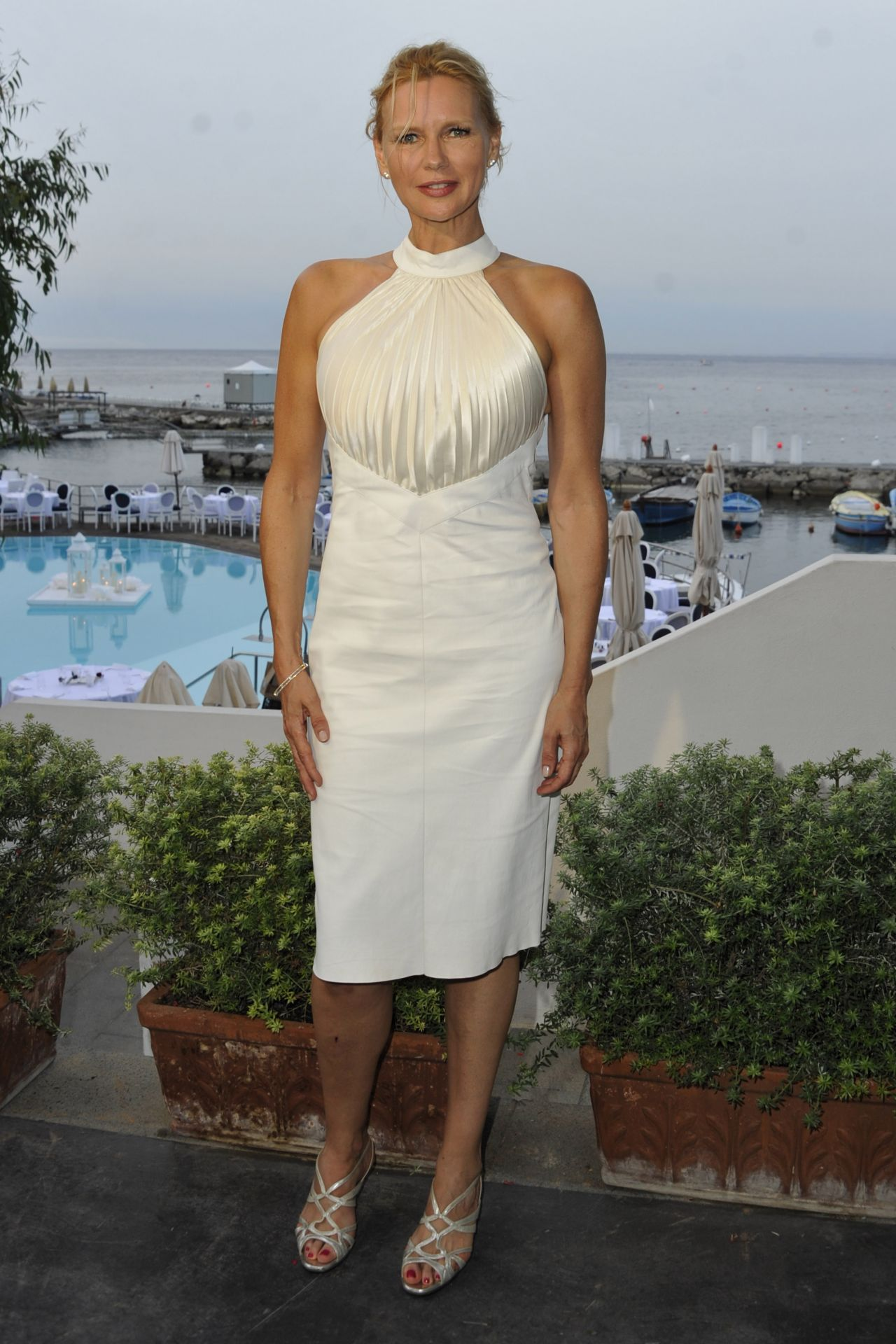 Veronica Ferres at TV SHOW in Ischia Global Festival 07/15 ...  Veronica Ferres...