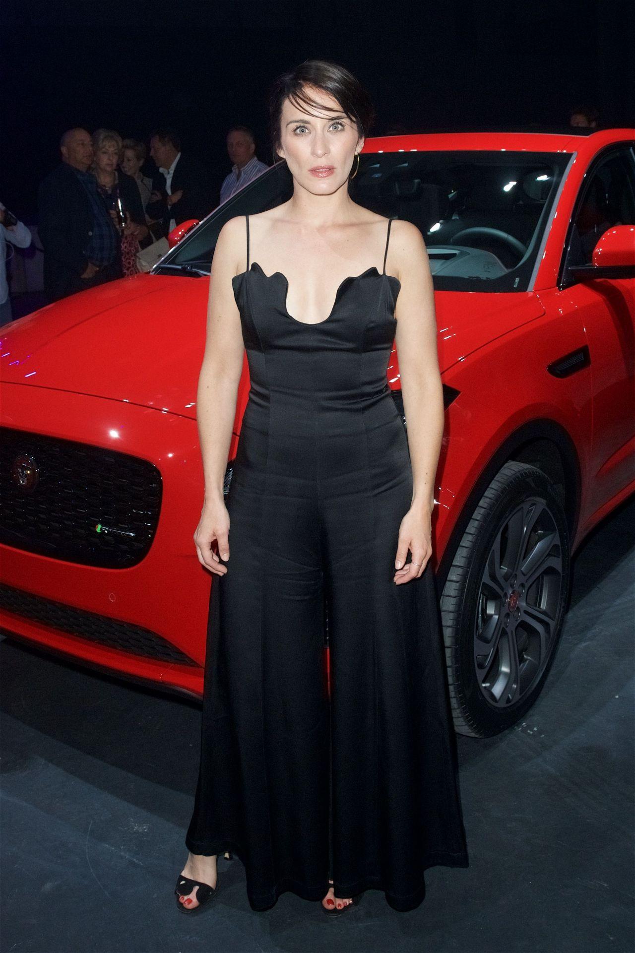 Vicky Mcclure Jaguar E Pace Car Launch Party In London