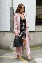 Vicky Pattison - Leaving ITV Studios in London 07/25/2017