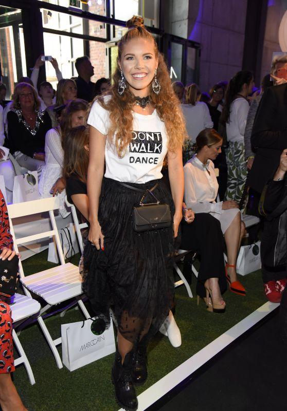 Victoria Swarovski at Riani Show – Mercedes Benz Fashion Week Berlin 07/04/2017