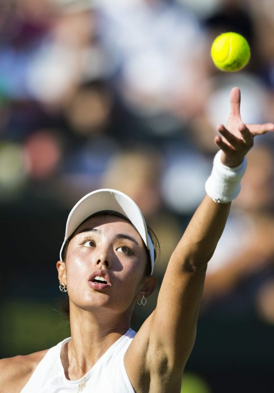 Wang Qiang – Wimbledon Championships in London 07/05/2017