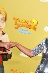 "Adriana Ugarte – ""Tadeo Jones 2"" Premiere in Madrid 08/22/2017"