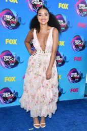 Aisha Dee – Teen Choice Awards in Los Angeles 08/13/2017