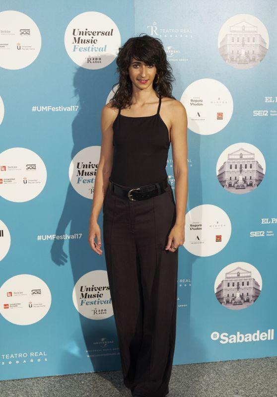 Alba Flores – Universal Music Festival in Madrid, Spain 07/28/2017