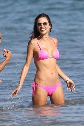 Alessandra Ambrosio in Bikini - Fun Day at the Beach in Malibu 08/06/2017
