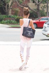 Alessandra Ambrosio - Out in Brentwood 08/25/2017