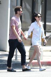 Alessandra Torresani and Boyfriend Sturgis Adams - Out in Los Angeles 08/05/2017