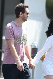 Alessandra Torresani and Boyfriend Sturgis Adams - Out in Los Angeles 08/05/2017