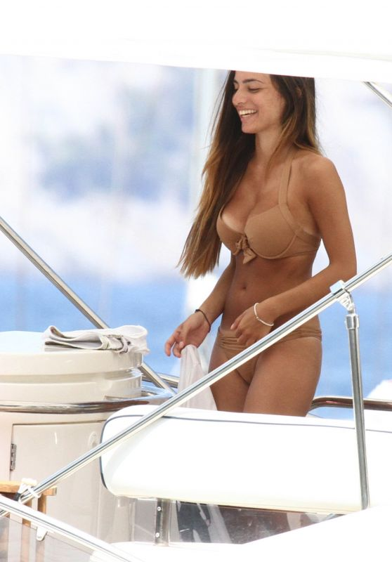 Alessia Elefante in Bikini - Portofino 07/30/2017