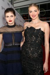 "Alexandra Daddario on Red Carpet – ""The Layover"" Premiere in Los Angeles"