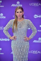 """Alexandra Olavarria – """"Premios Tu Mundo"""" in Miami 08/24/2017"""