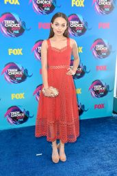 Alissa Jirrels – Teen Choice Awards in Los Angeles 08/13/2017