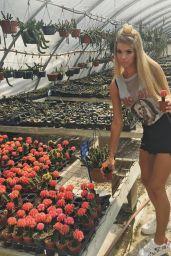 Allie DeBerry - Social Media Pics 08/16/2017