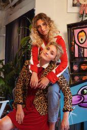 Alyson Aly Michalka & Amanda AJ Michalka - Refinery29 Photoshoot (2017)