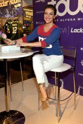 "Alyssa Milano - ""Touch"" Launch at Macy"