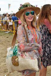 Amanda Holden - Big Festival in Kingham, Oxfordshire 08/26/2017
