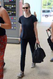 Amanda Seyfried - Venice Marco Polo Airport 08/30/2017