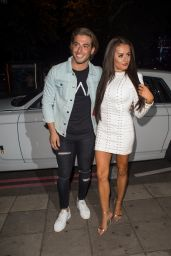 Amber Davies – BoohooMan by Kem Cetinay Launch Party in London, UK 08/24/2017