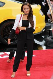 "Amber Davies – ""Logan Lucky"" Premiere in London"