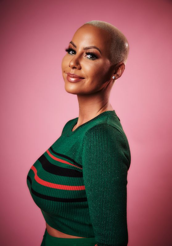 Amber Rose – Variety Portrait Studio at Beautycon Festival in LA 08/12/2017