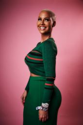 Amber Rose – Variety Portrait Studio at Beautycon Festival in LA 08/12/2017
