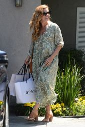 Amy Adams – Arrives at the Day of Indulgence Party in Brentwood 08/13/2017