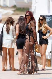 Amy Childs in Swimsuit in Ibiza 08/10/2017