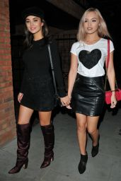 """Amy Jackson and Roxy Horner - """"Ego by Ella Eyre"""" Single Launch Party in London 08/15/2017"""