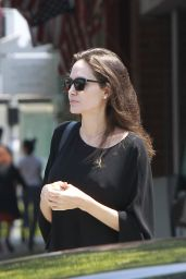 Angelina Jolie - Out in Los Angeles, CA 08/16/2017