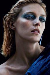 Anja Rubik - Photoshoot for Vogue Paris September 2017