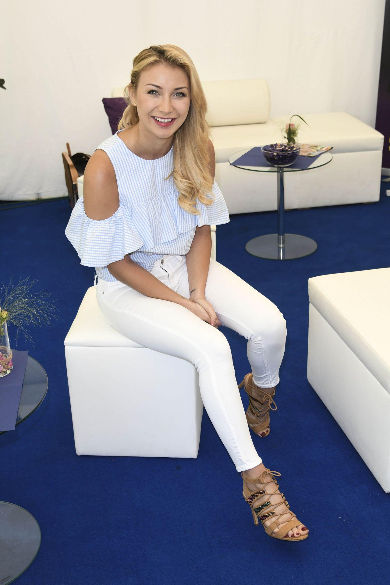 Anna-Carina Woitschack - ARD TV Show in Europapark, Rust ...