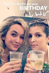 Anna Kendrick - Social Media Pics 08/16/2017