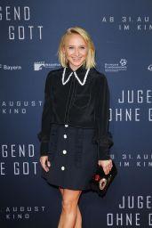 """Anna Maria Mühe – """"Jugend Ohne Gott"""" Premiere in Munich 08/21/2017"""